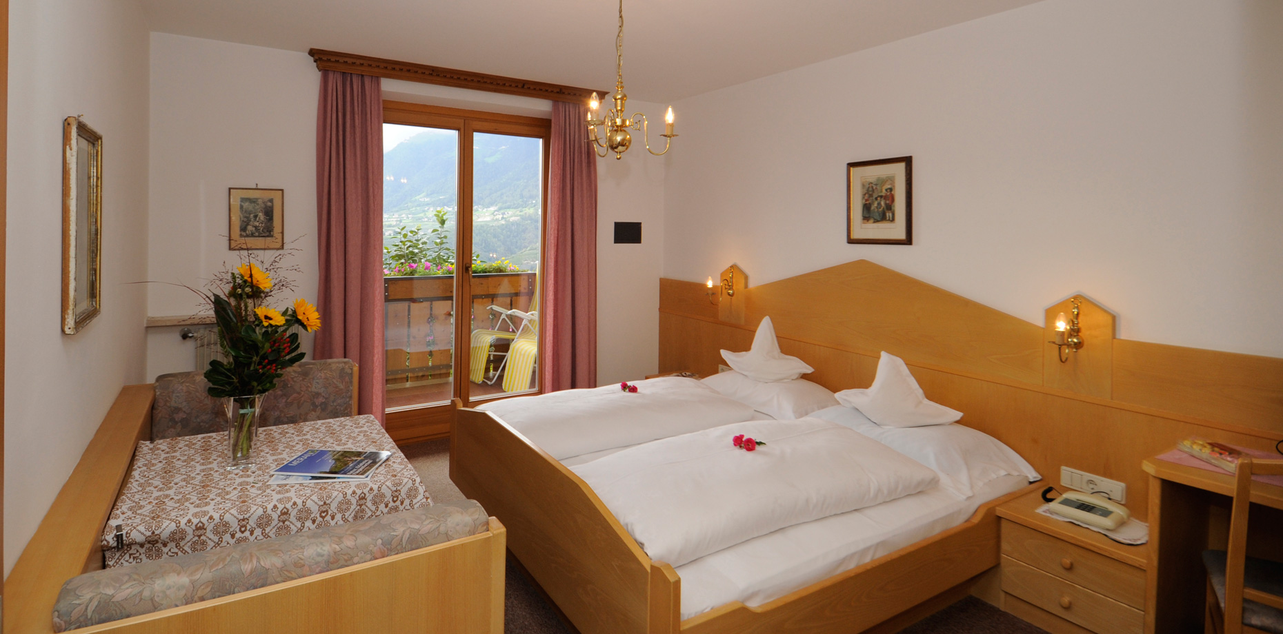 Buchen Sie Last Minute in der Pension Laurin