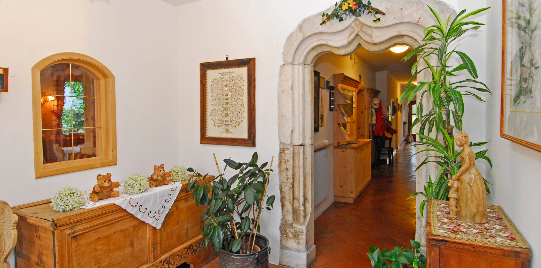 Pension Laurin - Ambiente